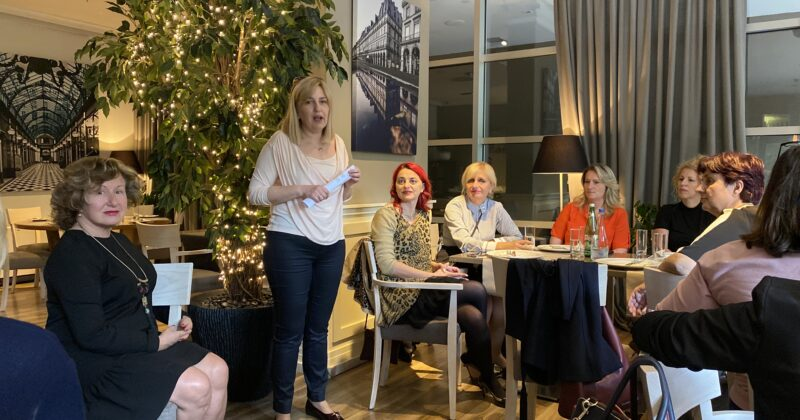BLOG – First Meeting of the Association of Business Women in Serbia